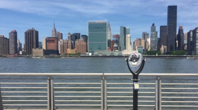 Manhattan skyline as seen from Long Island City, Queens