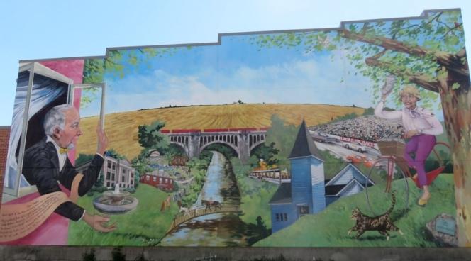 Danville, Indiana mural