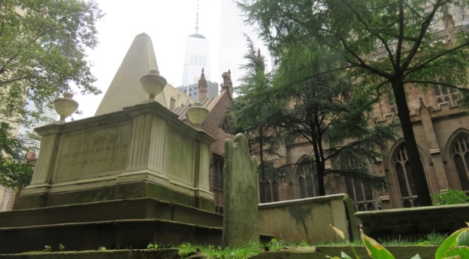 Alexander Hamilton gravesite