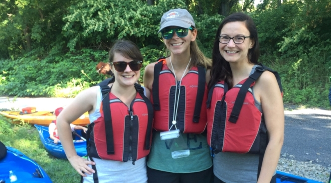 Kayaking on the Chemung River with Southern Tier Kayak Tours