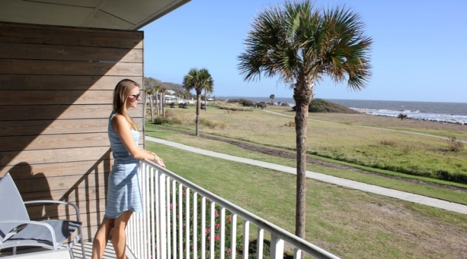 Holiday Inn Resort Jekyll Island balcony