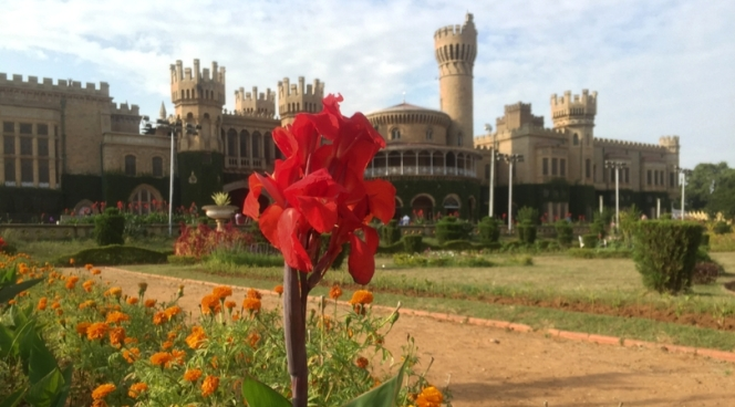 Bangalore Palace in Bangalore, Karnataka, India