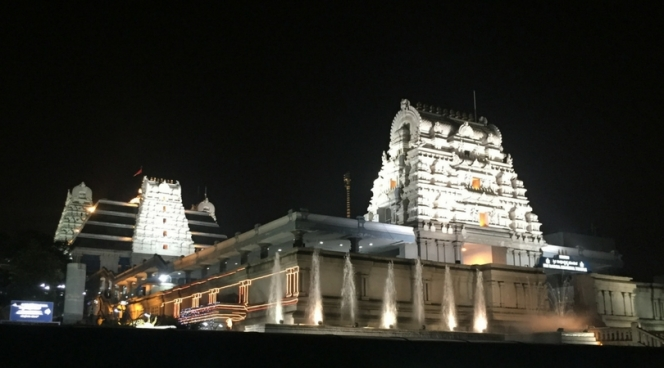 Iskcon Temple in Bangalore, Karnataka, India